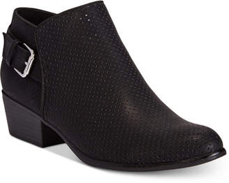 Esprit Talia Perforated Ankle Booties Women's Shoes