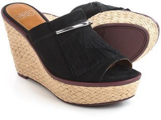 Franco Sarto Candace Sandals - Nubuck, Wedge Heel (For Women) $39.99 thestylecure.com