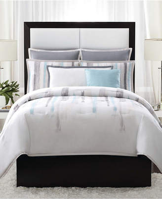 Vince Camuto Home Sorrento Full/Queen 3 Piece Duvet Set in Aqua