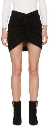Etoile Isabel Marant Black Joyce Miniskirt
