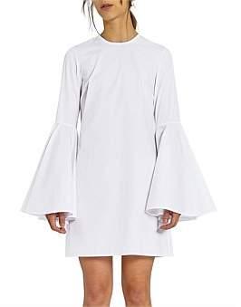 Ellery Dogma Flare Sleeve Mini Dress