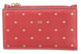 Christian Dior 2018 Star Printed Wallet