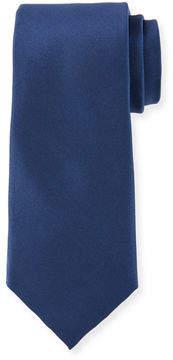 Neiman Marcus Solid Satin Tie