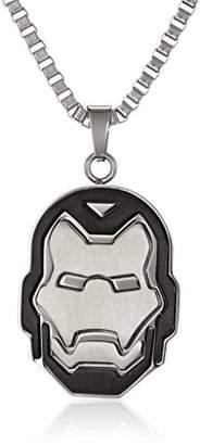 Iron Man Marvel Comics Unisex Ironman Stainless Steel Chain Pendant Necklace