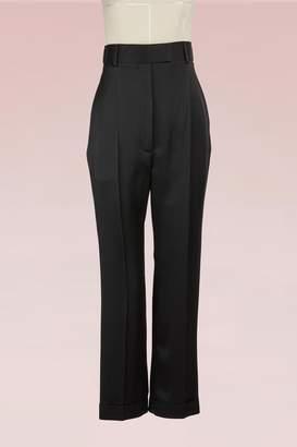 Haider Ackermann High-Waisted Silky Pants