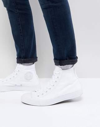 Converse Hi plimsolls in white 1u646