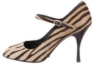 Dolce & Gabbana Ponyhair Mary Jane Pumps