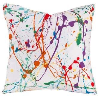 """Crayola Splat Throw Pillow (17""""x17"""")"""