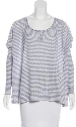 AllSaints Striped Long Sleeve Top