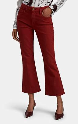 Frame Women's Le Crop Mini Boot Jeans - Red
