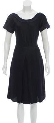 Nina Ricci A-line Midi Dress