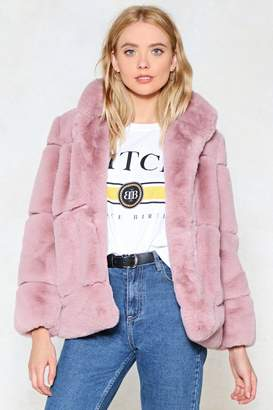 Nasty Gal Fur Your Consideration Faux Fur Coat