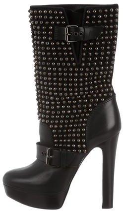 Christian Louboutin Christian Louboutin Marisa Studded Ankle Boots
