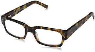 Eyebobs Unisex - Adult Peckerhead Rectangular Reading Glasses