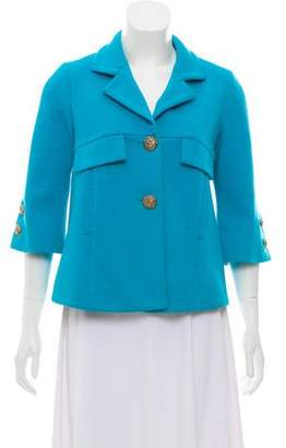 Smythe Wool Button-Up Jacket