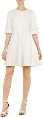 Ted Baker Ritzi Ruffle-Trimmed Dress