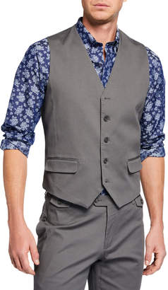 Joe's Jeans Men's Cotton Vest, Gray