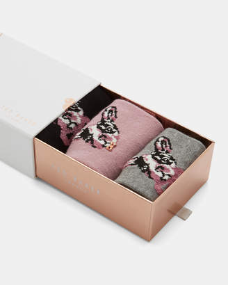 Ted Baker TAVIAA Cotton bulldog sock set