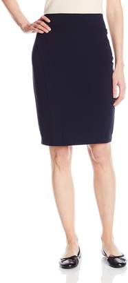 My Michelle Junior's Pencil Skirt with Elastic Mesh Inserts