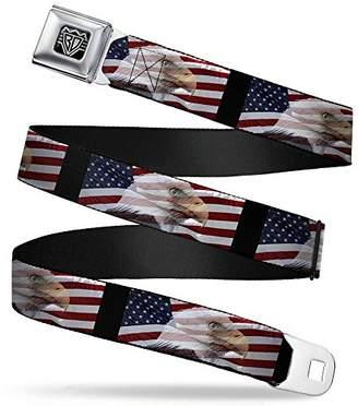 Americana Buckle-Down Men Seatbelt Belt W30107