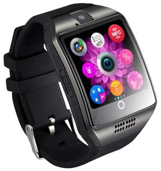Baby-G oobest Bluetooth Smart Watch Phone GMS GPRS 1.54inch Screen for Android Black