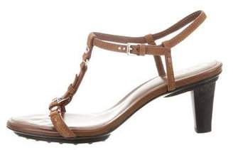 Tod's Suede Multistrap Sandals