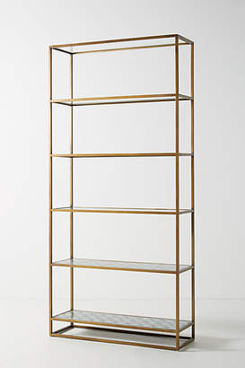 Anthropologie Art Deco Etagere Bookcase
