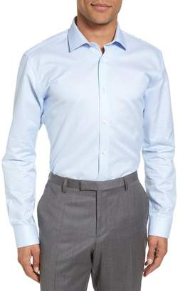 Ted Baker Brasser Trim Fit Solid Dress Shirt
