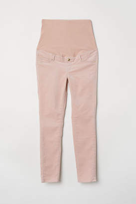 H&M MAMA Corduroy Pants - Orange