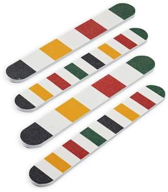 HBC Stripes Emery Board Four-Piece Set