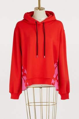 MSGM Chain print hoodie