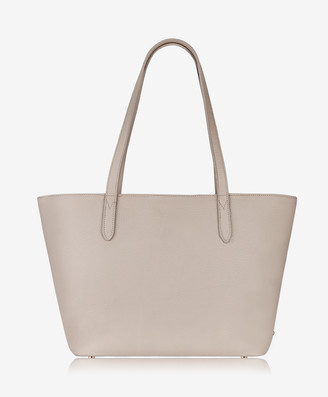 GiGi New York Teddie Tote, Beechwood Pebble Grain