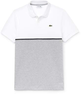 Lacoste Men's SPORT Colorblock Ultra-Light Cotton Tennis Polo