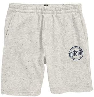 Volcom Downtime Sweat Shorts (Toddler & Little Boys)