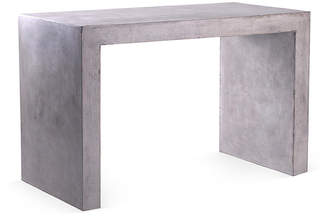One Kings Lane Sotto Desk - Gray Concrete