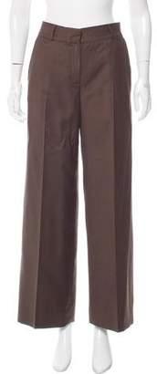 Oscar de la Renta Mid-Rise Wide-Leg Pants