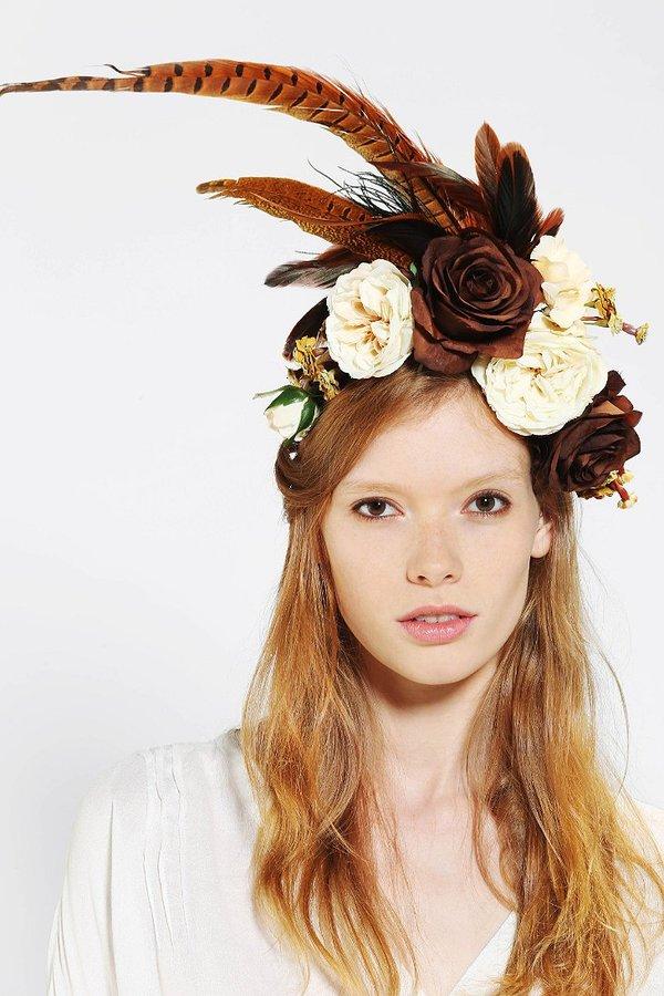 Burley Katie Millinery Harvest Flower Crown Headwrap