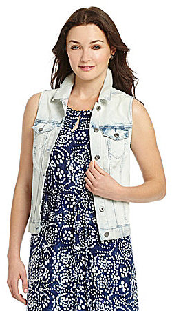 Vince Camuto TWO by Denim Vest