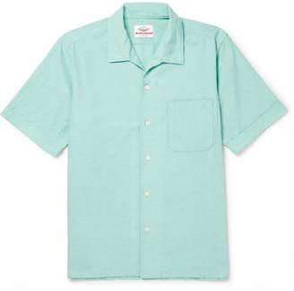 Battenwear Zuma Camp-Collar Cotton Shirt