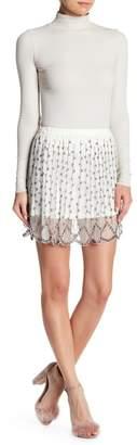 Raga Moon Mist Beaded Mini Skirt