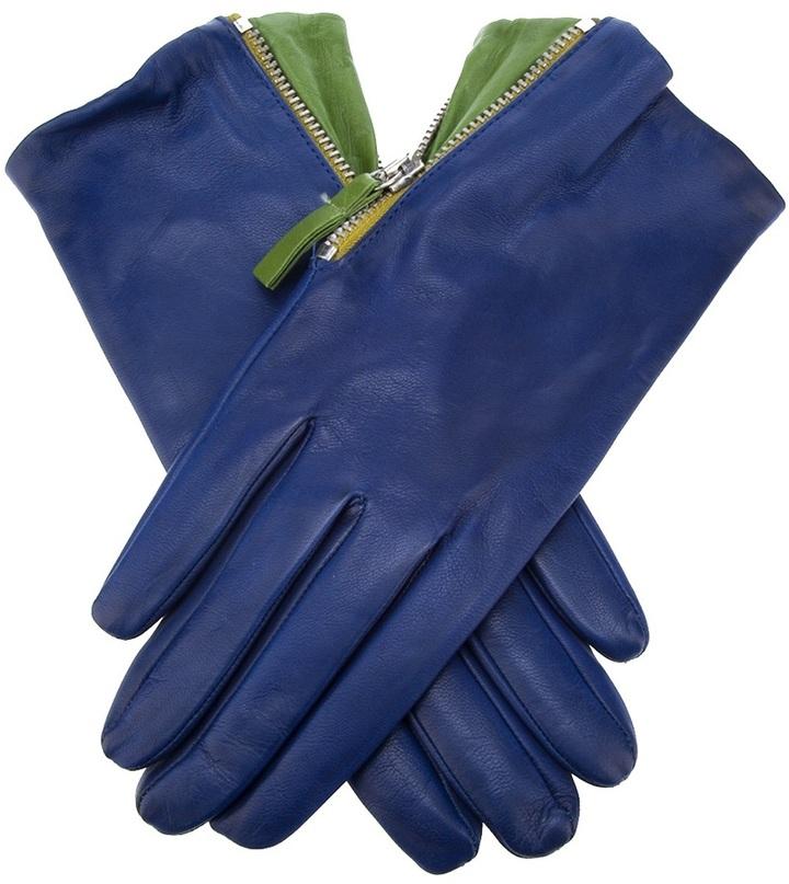 Paul Smith Leather zip glove