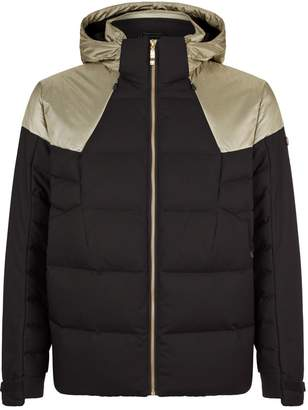 BOSS GREEN Metallic Panel Padded Coat