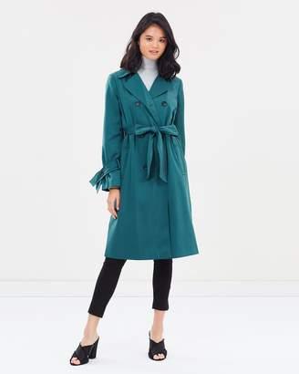 Miss Selfridge Fluid Trench Coat