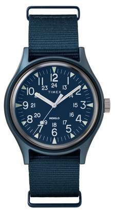 Timex R MK1 Nylon Strap Watch, 40mm