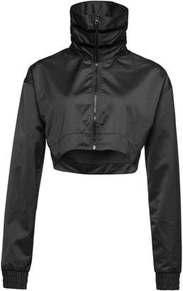 CROPPED ZIP-UP TRACK JACKET