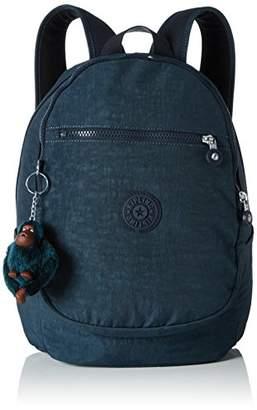 Kipling Clas Challenger, Women's Backpack, Grün (Emerald Combo), (B x H T)