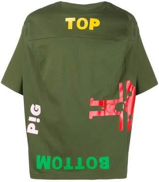 Walter Van Beirendonck top/bottom T-shirt