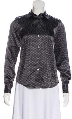 Marc Jacobs Silk Printed Button-Up w/ Tags