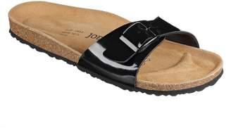 N. JOE JOYCE Women Porto SynSoft Soft Footbed Sandals Size Narrow
