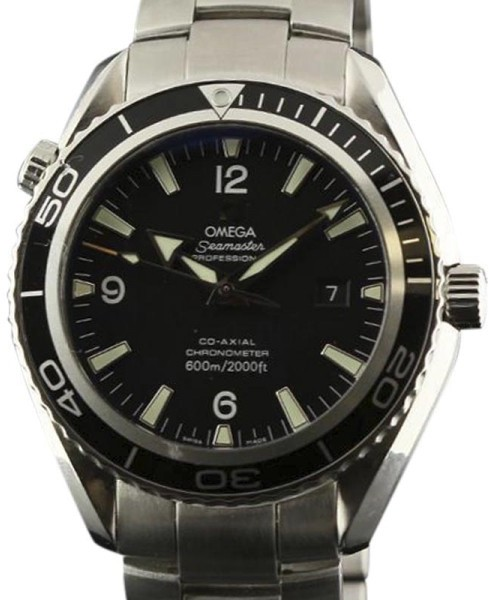 Omega Omega Seamaster Planet Ocean Co-Axial 2200.50.00 Stainless Steel Black Dial 45mm Mens Watch